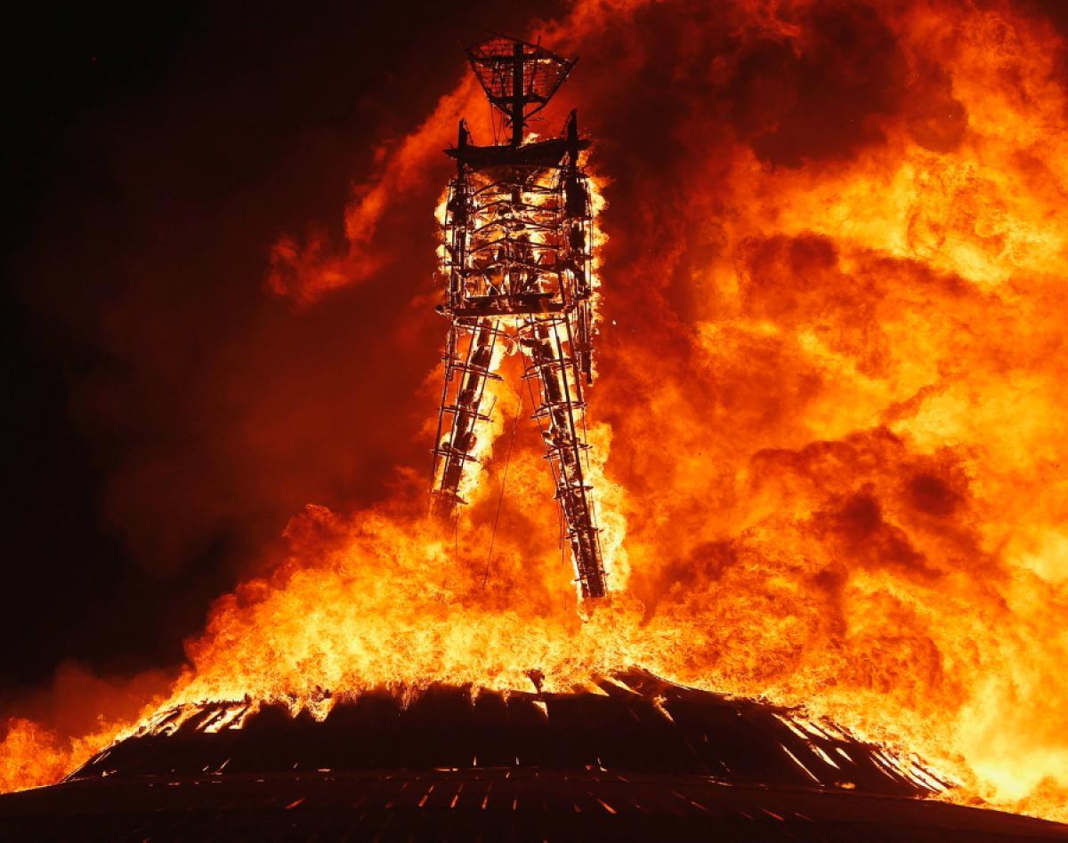 1 - Burning Man